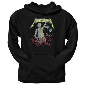 Metallica And Justice For All black hoodie sweater